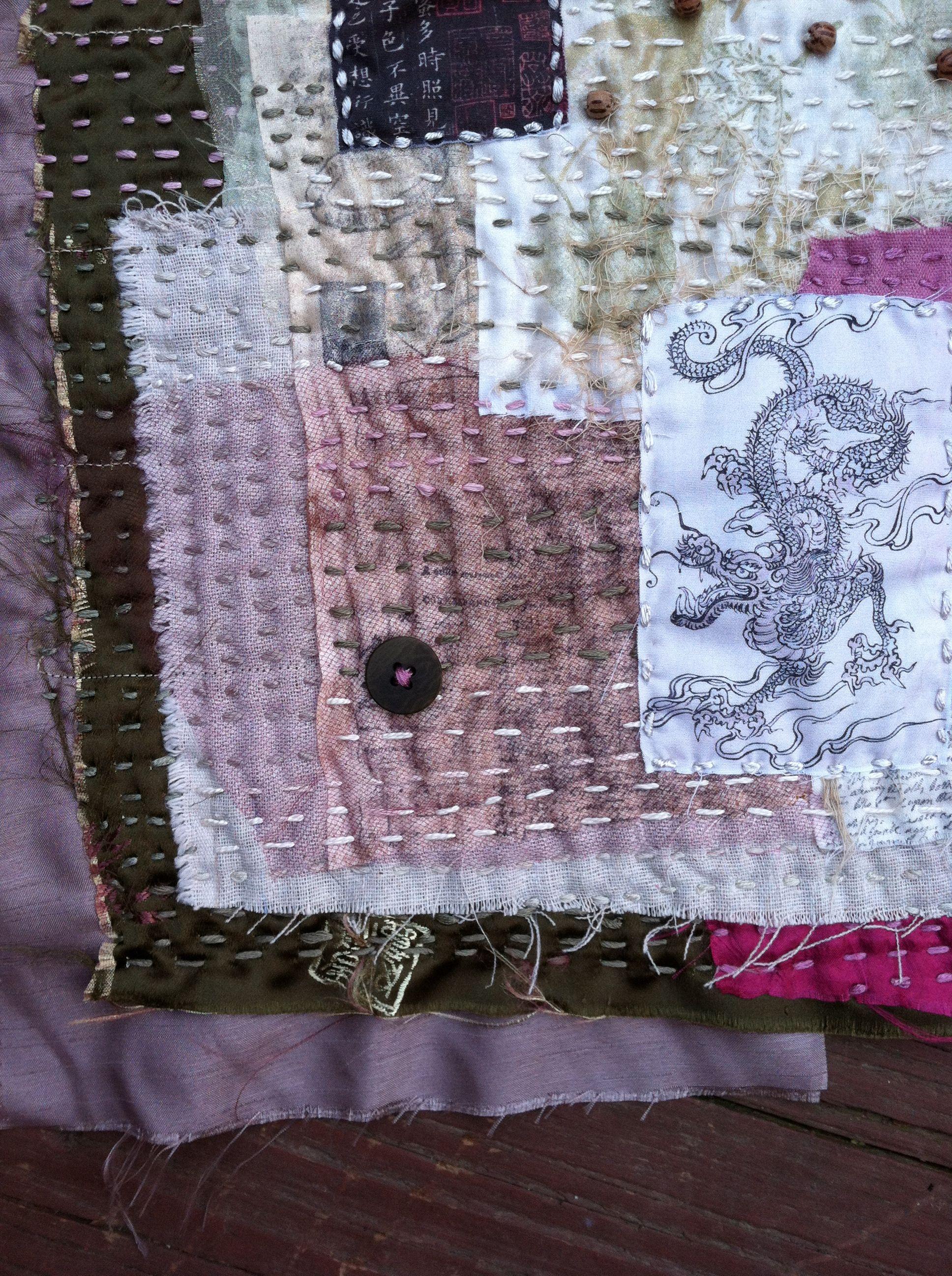 Stitch detail by Natalie Turner-Jones