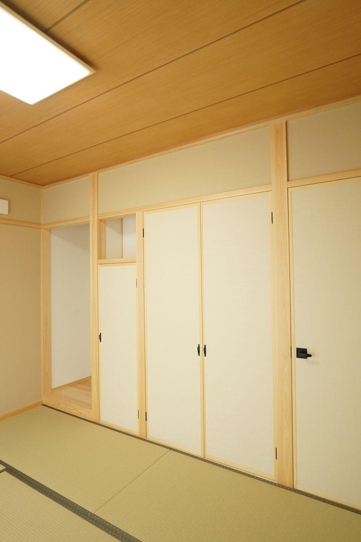 真壁和室のあるシンプルスタイルの外観のお家 豊橋 豊川 新城の工務店