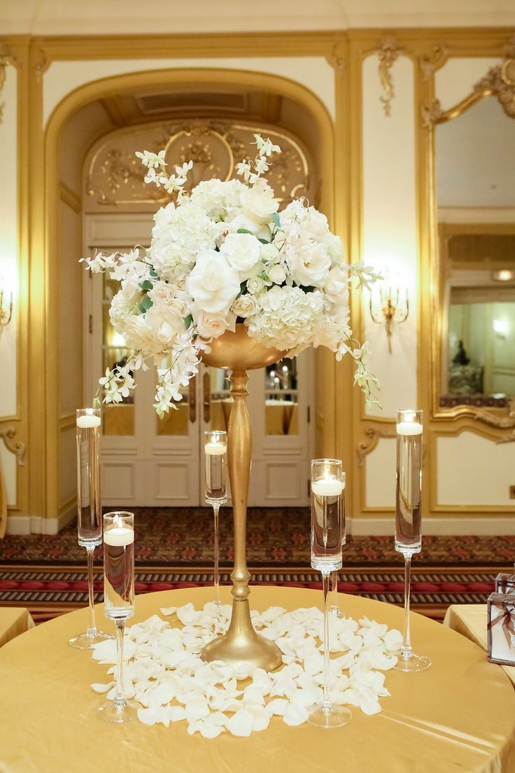 Luxury wedding decoration ideas  Wedding Flowers and Decoration Wedding Details Hilton Chicago