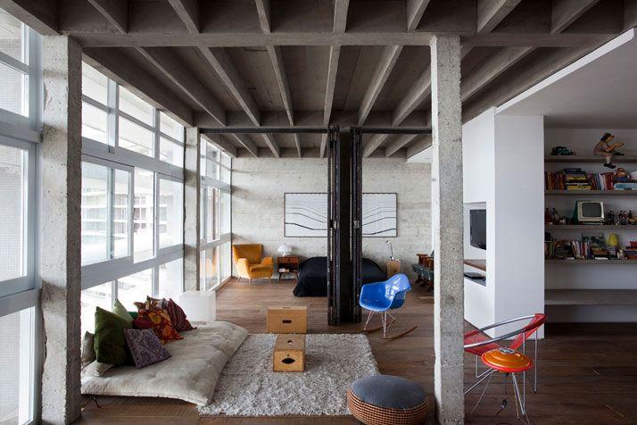 At Oscar Niemeyer's