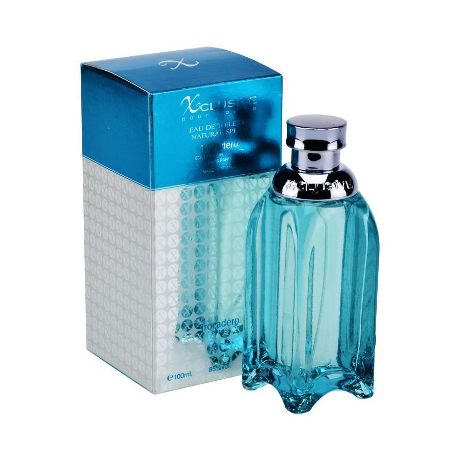 Xclusive Pour Homme by Trocadero with an elegant scent, with lemon scent, wood…