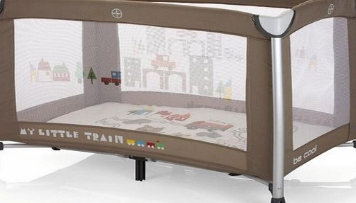 Be Cool Travel Cot Sleepngo Sable Cot With 2 Mattress Heights