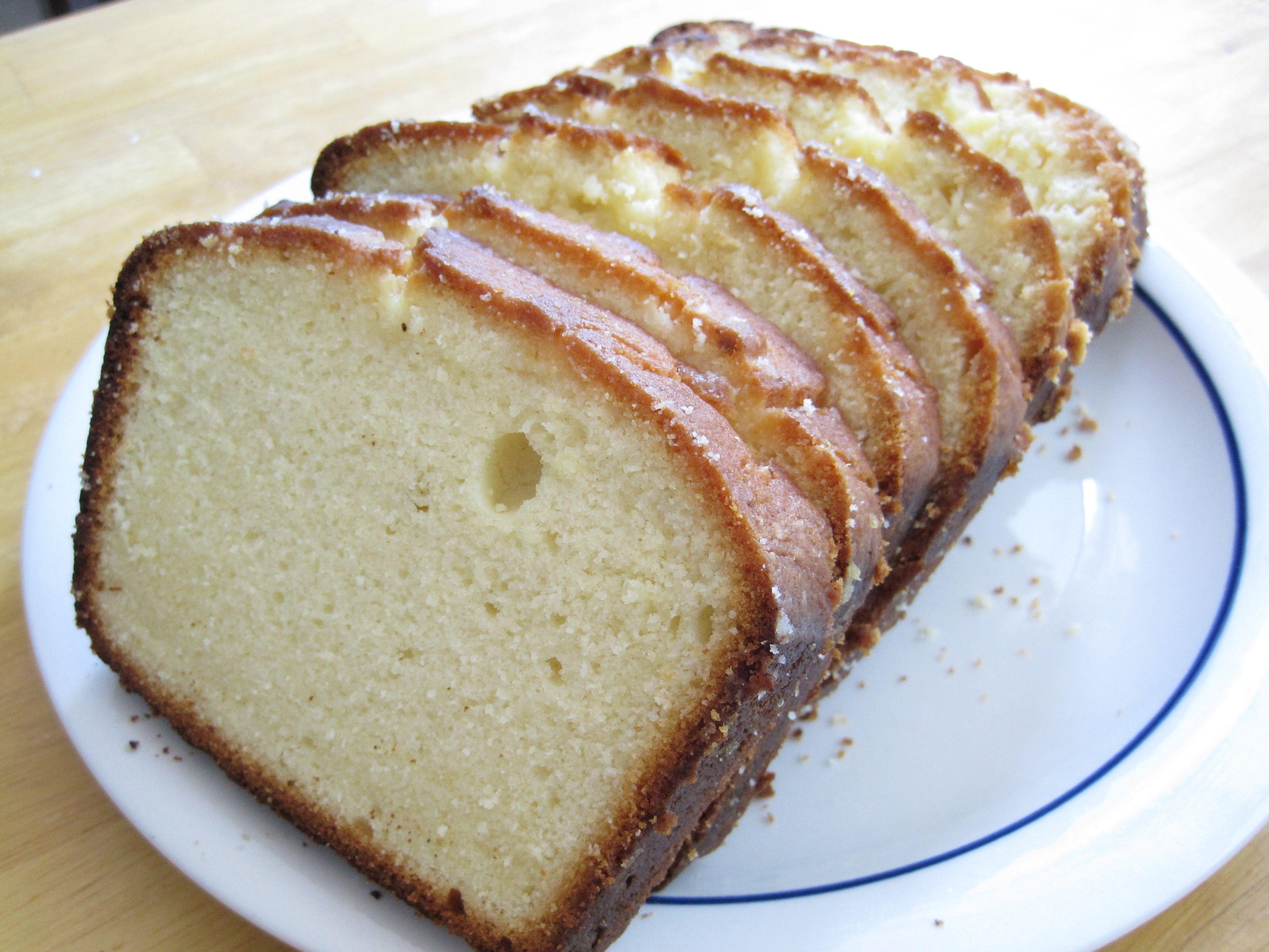 Lemon Cream Cheese Pound Cake Recipe Cake Recipes Pinterest
