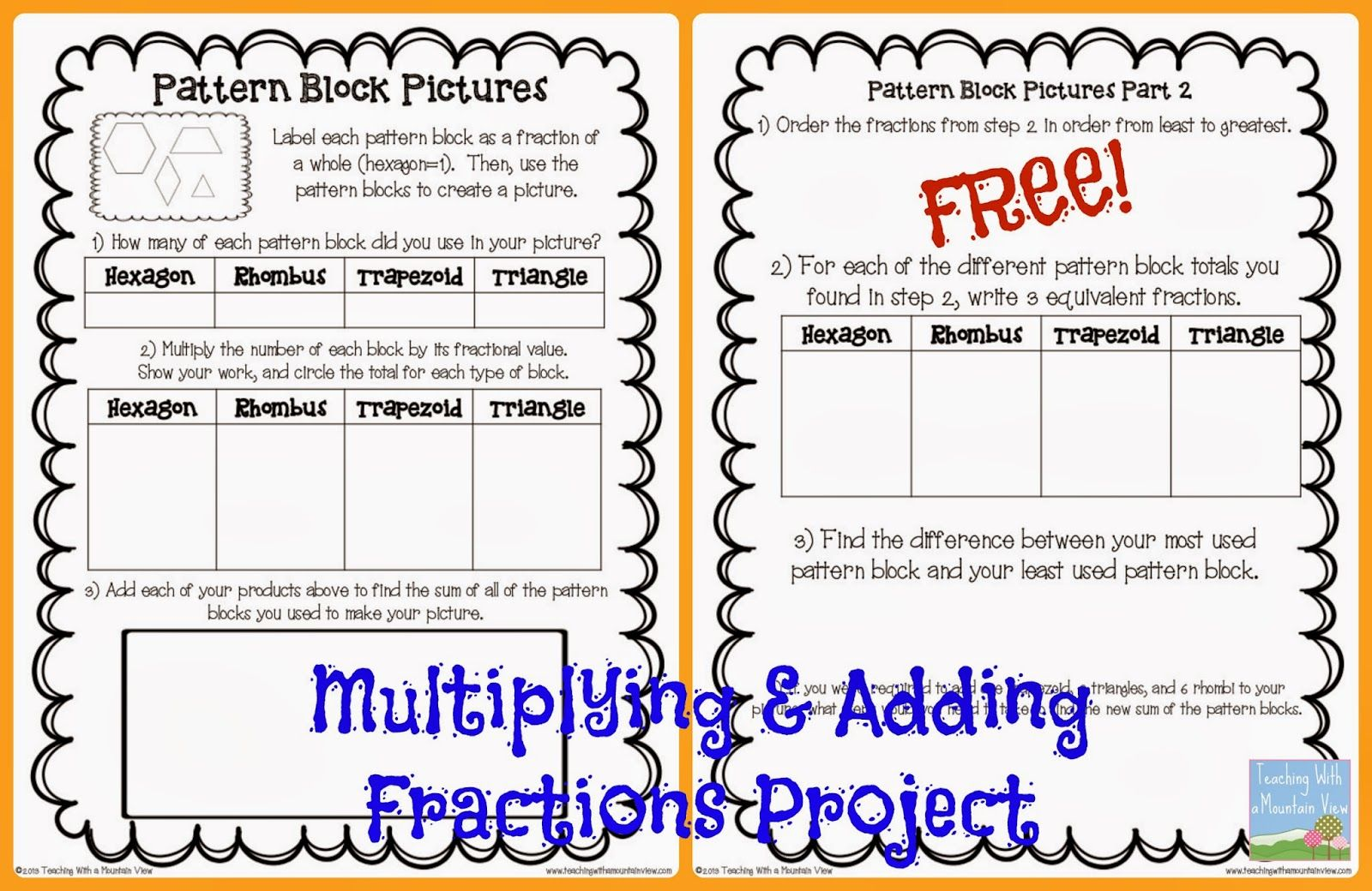Fraction Operation Review Project