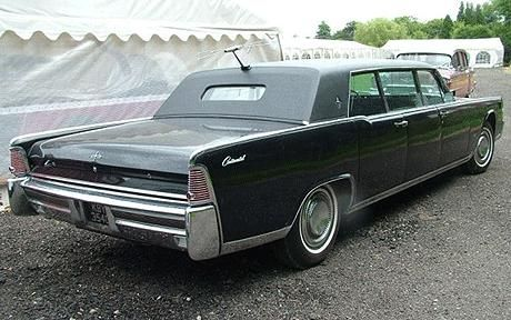 98f6516045 1965 Lincoln Continental Presidential Limousine.