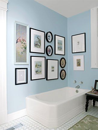 Frame Collage In The Bathroom Home Decor Decor Home