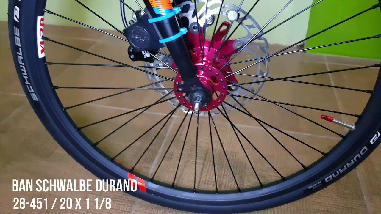Sepeda Lipat Ecosmo 7 Upgrade Rasa Roadbike Di 2020 Sepeda Video