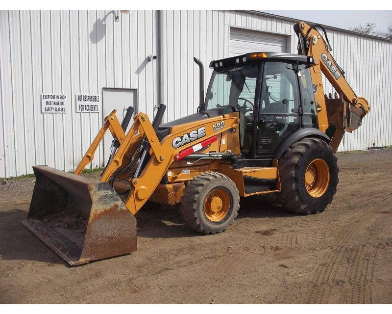 2012 case 590sn backhoe from tractor ranch in wills point. Black Bedroom Furniture Sets. Home Design Ideas