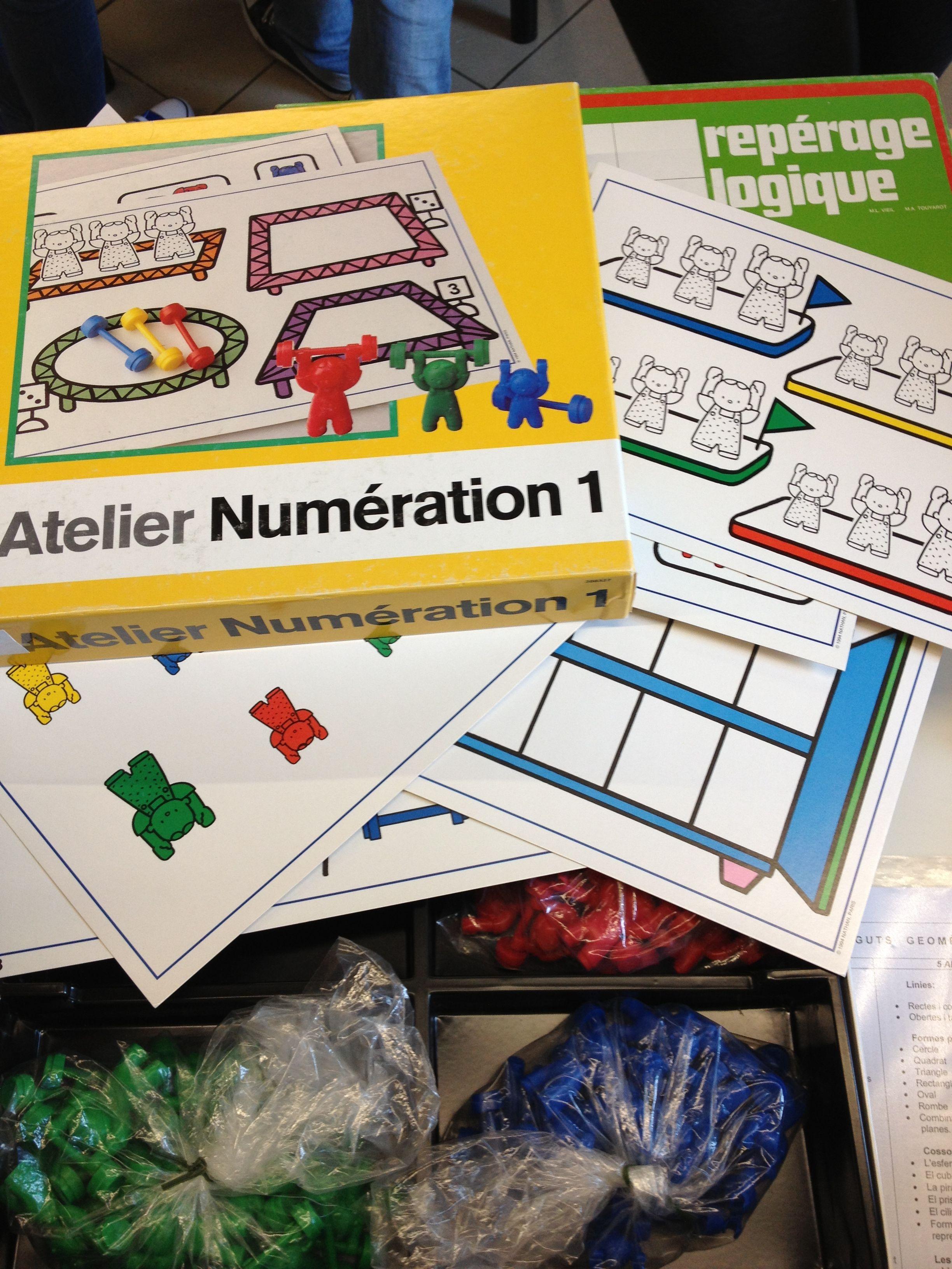 Atelier Numération 1. Nathan. | Ecole | Pinterest