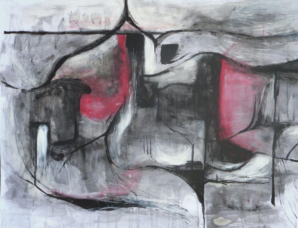 Arte Abstracto Blanco Y Negro
