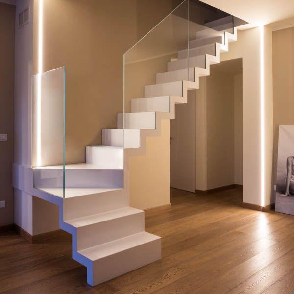 Casa ventimiglia 2014 su luc torino scale stairs for Casa moderna a torino