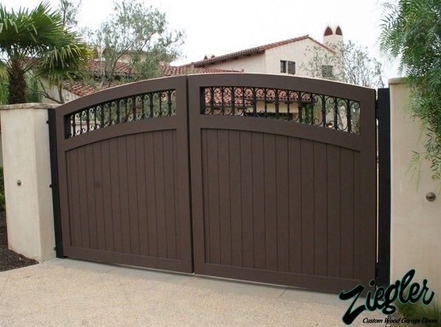 High Quality Garage Gates 2 Driveway Gate For Garage Door Opener