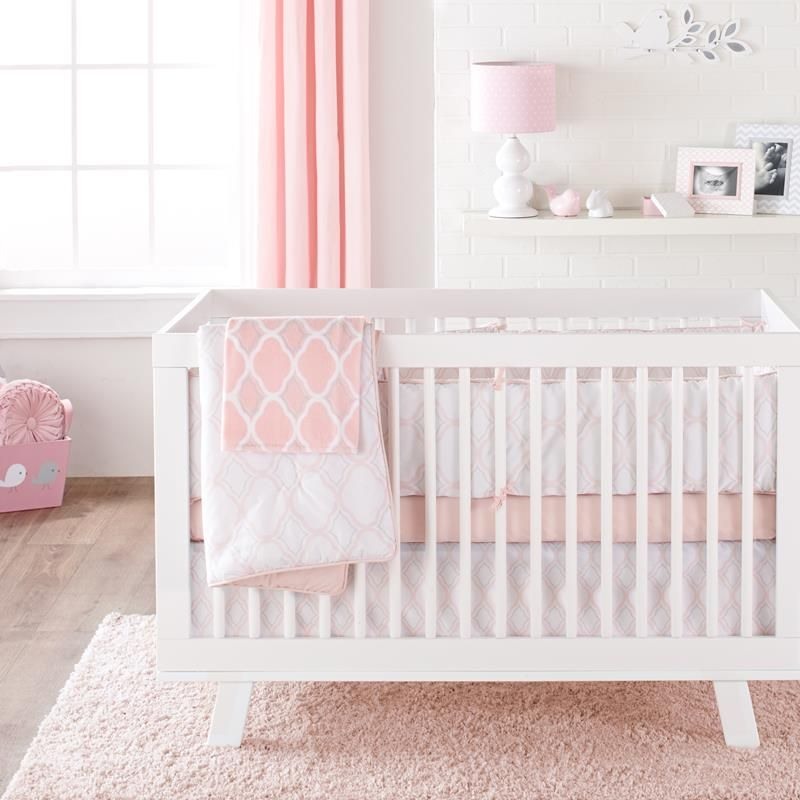 Adelie Collection 4 Piece Baby Crib Set Bedding Baby