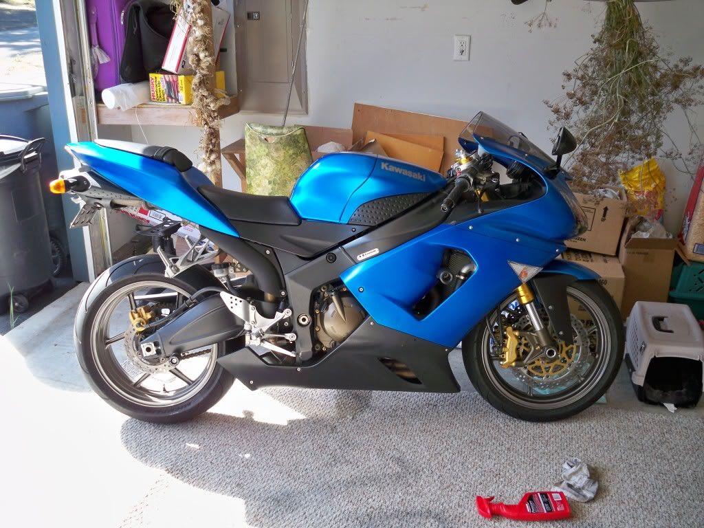 Motorcycle Kawasaki Ninja Motorrad