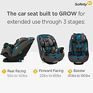 Safest Cheap Convertible Car Seats 2017 | Safety 1st Grow and Go 3-in-1 Car Seat, Blue Coral