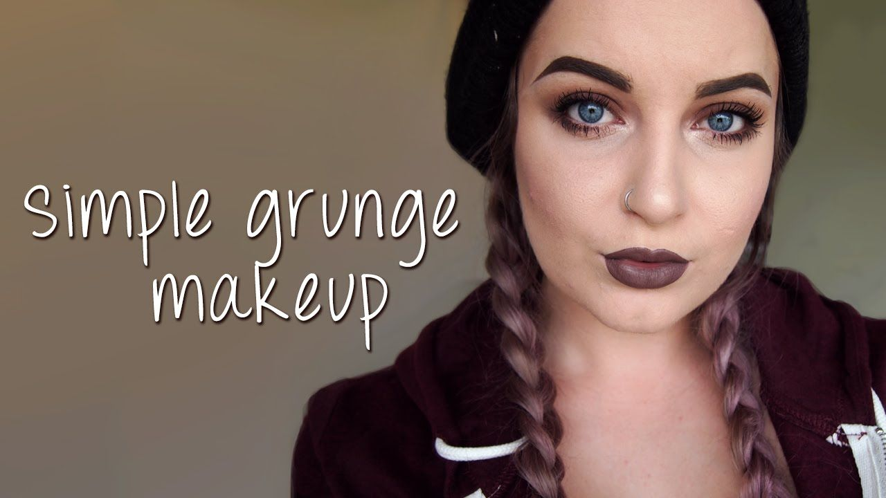Simple Grunge Makeup Tutorial Too Faced Chocolate Bar Palette