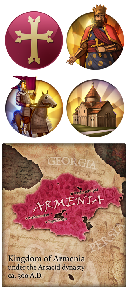 Civ 5 Mod Art - Armenia by JanBoruta on DeviantArt