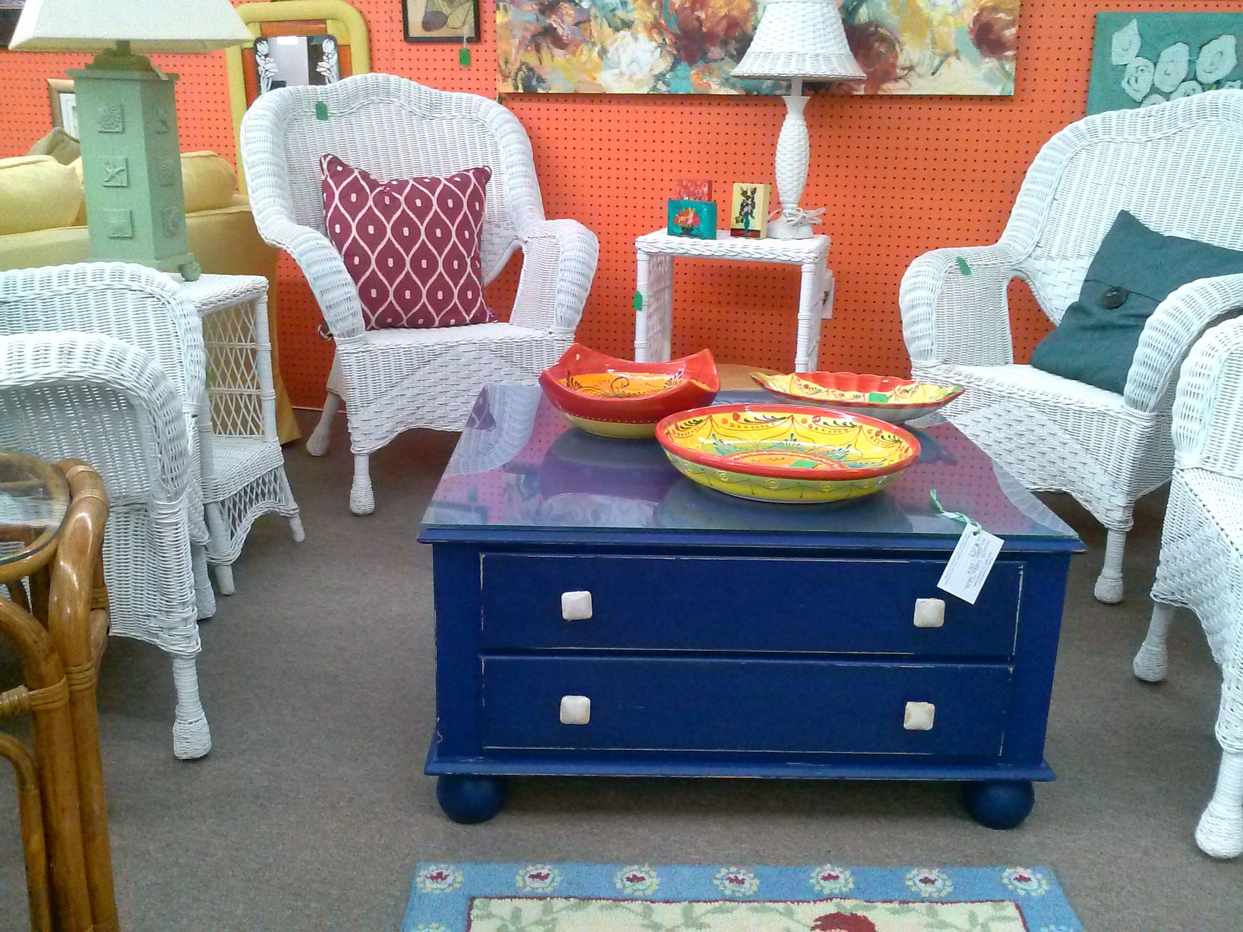Royal Blue Coffee Table Fun Funky And Totally Functional