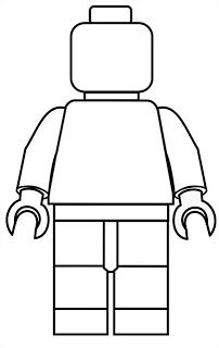 Pin the head on the lego man template can we resize him for Lego minifigure head template