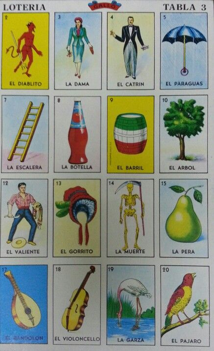 graphic about Printable Loteria Mexicana known as Printable Loteria Mexicana Playing cards