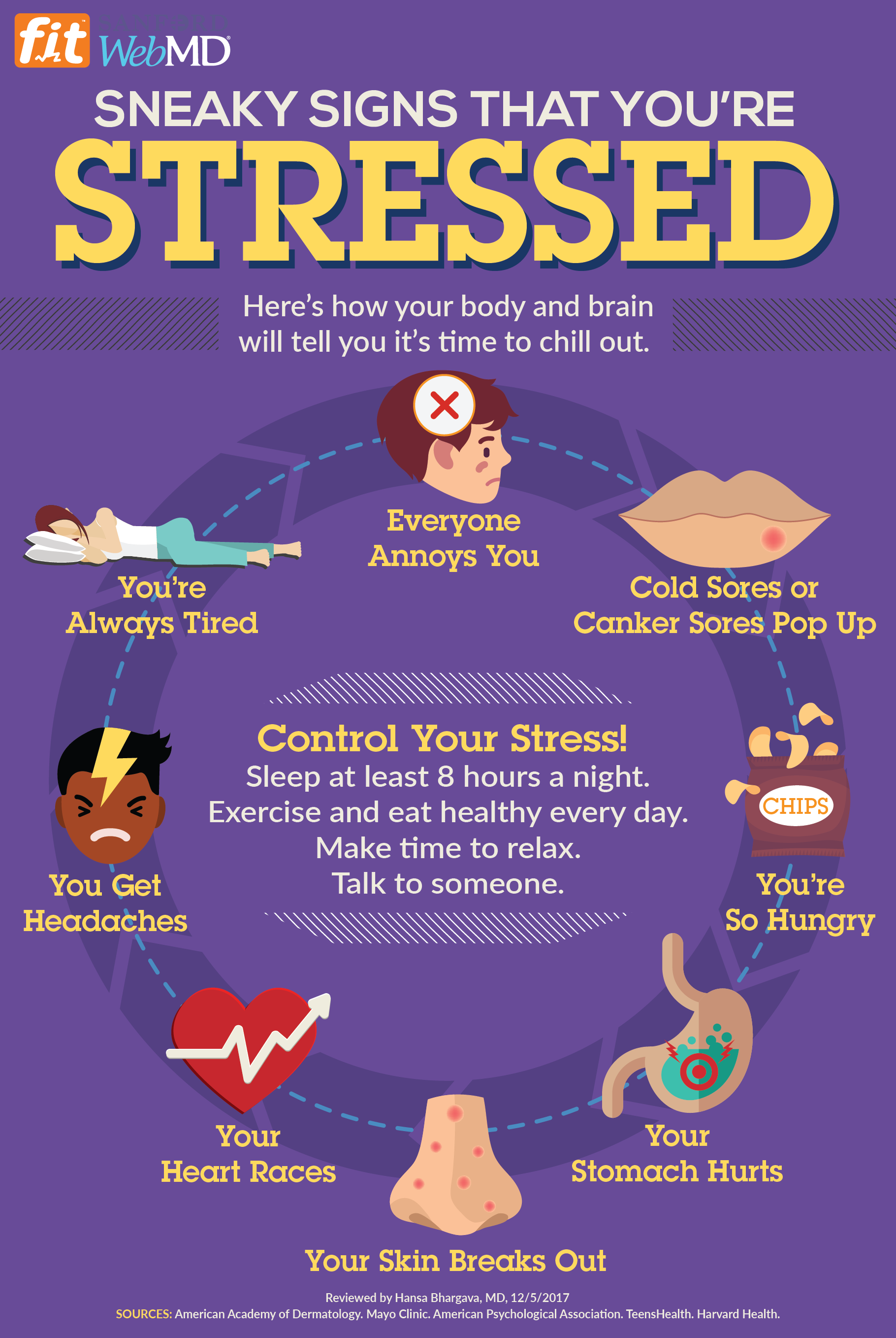 How Can You Tell That You Re Too Stressed