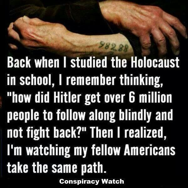 Americans are following blindly