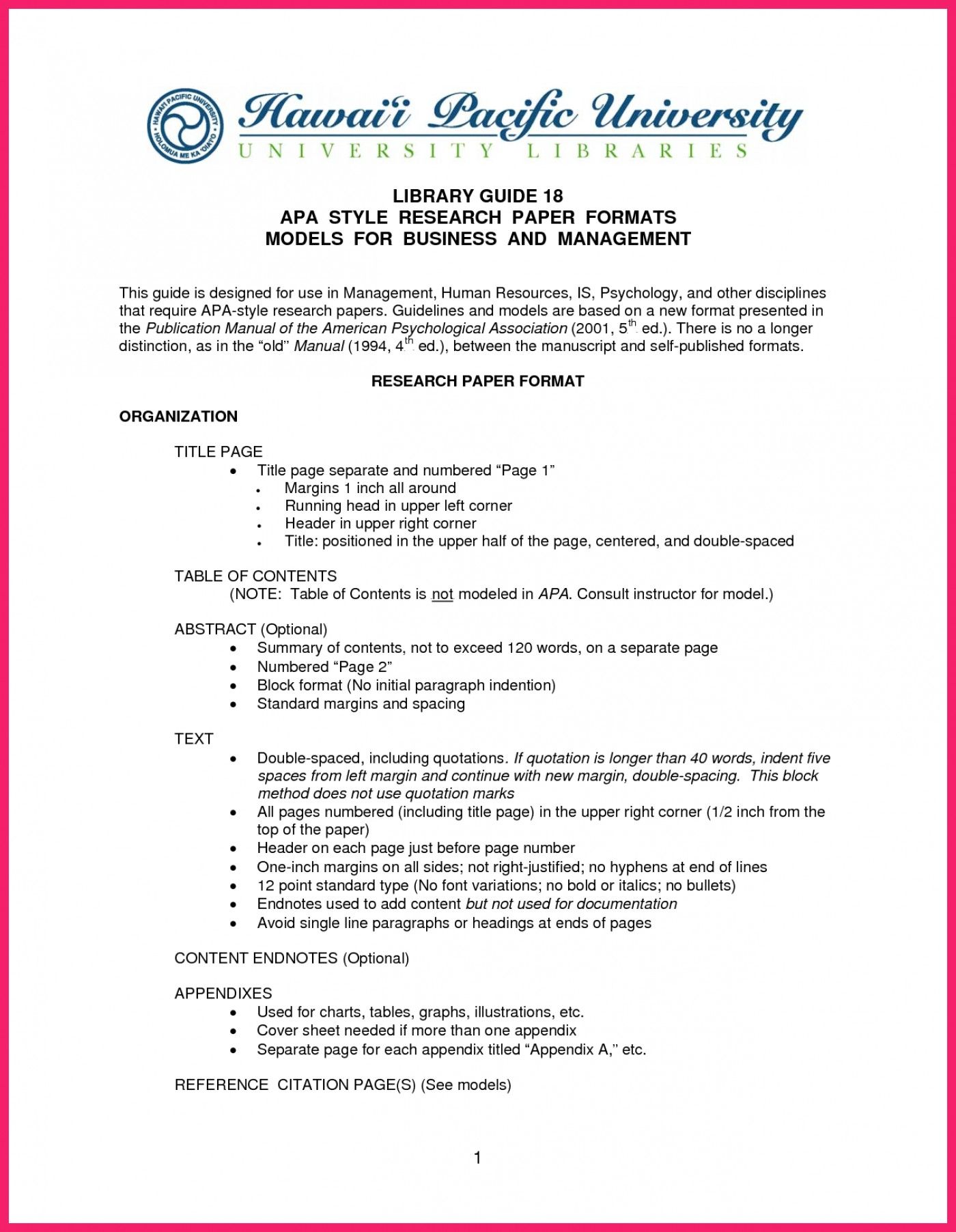 006 Apa Format Research Paper Word Template Ideas Collection With
