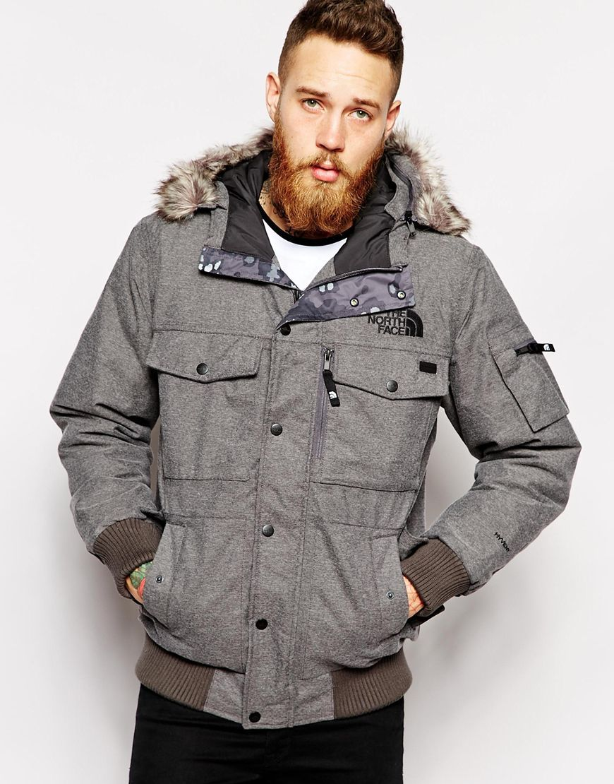 b8407730c9 Image 1 of The North Face Gotham Jacket | His Style | Jackets, Gray ...