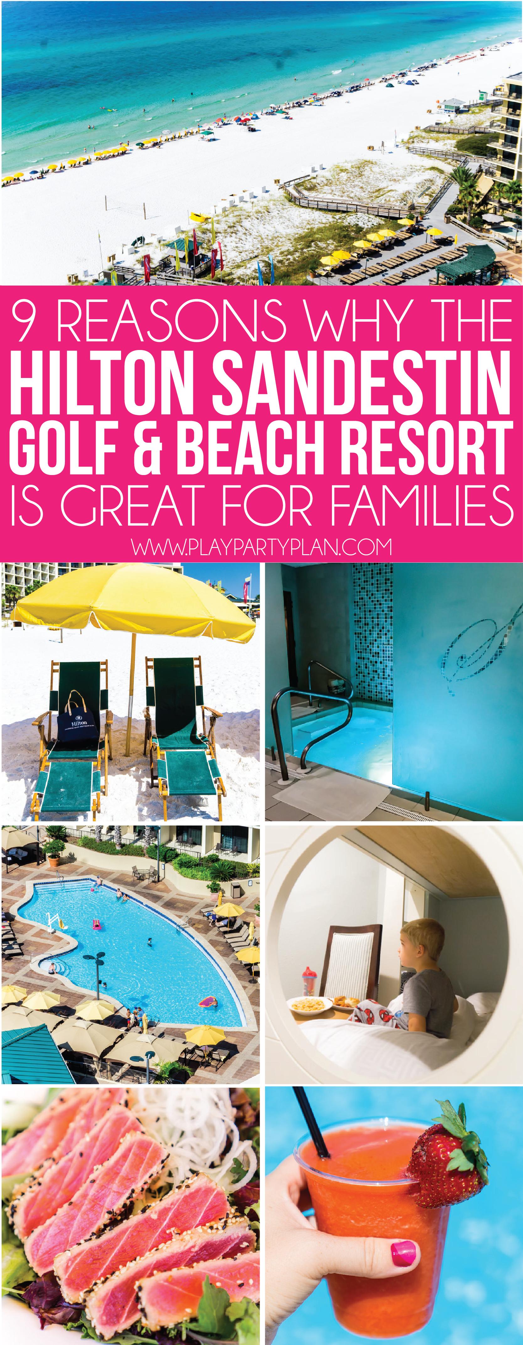 9 Reasons Families Will Love The Hilton Sandestin Beach Sandestin Golf And Beach Resort Beach Resort Design Family Beach Resorts