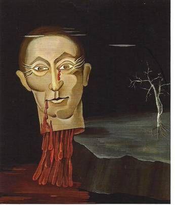 Victor Brauner, Le Poète Benjamin Fondane, 1931, huile sur toile, 59 x 68 cm, coll. Particulière.