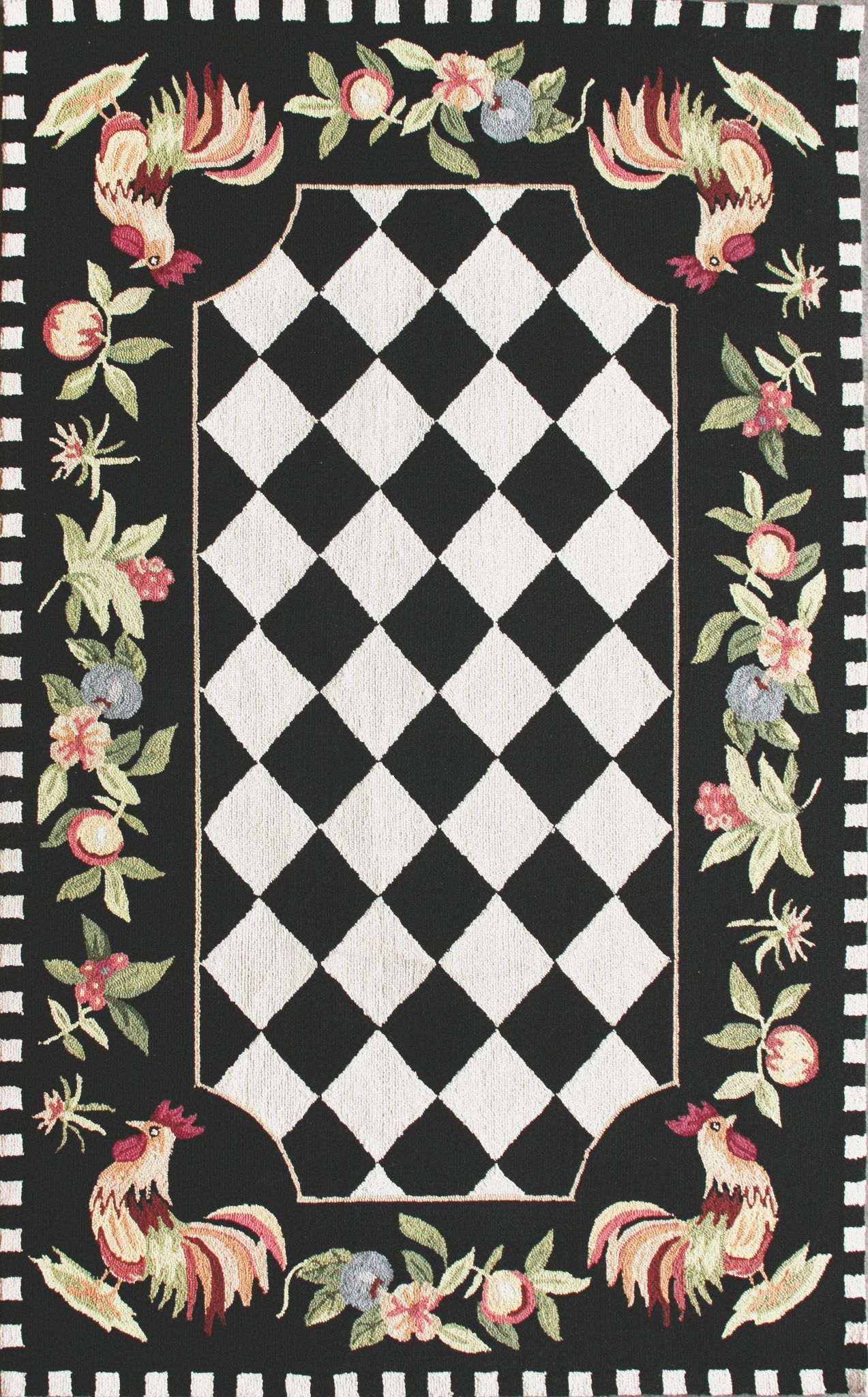 Rooster Rugs for the Kitchen - beautiful rooster rugs, rooster and ...