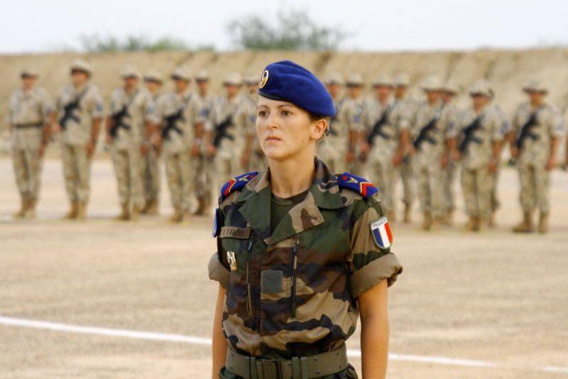 French Army Women Women in Uniform | Mil...
