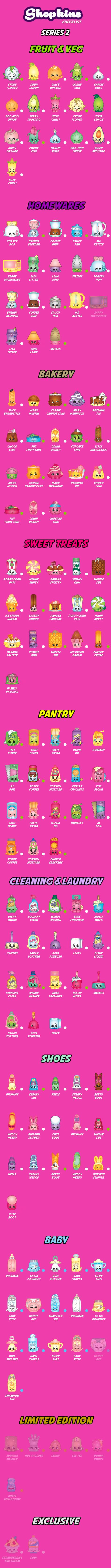 Check out my Shopkins Collection - Get the Shopkins Checklist app on iOS and Android App Stores!