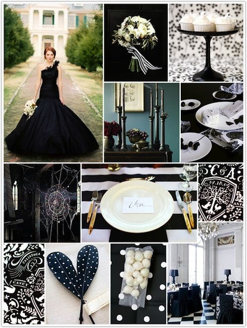 Black White Party Theme Party Themes Pinterest