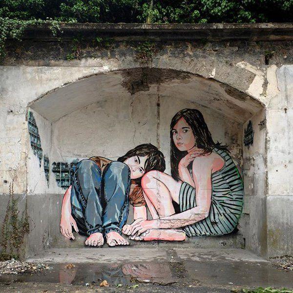Aubervilliers, francia 2014-Jana & js - Street Art di Jana & js <3 <3