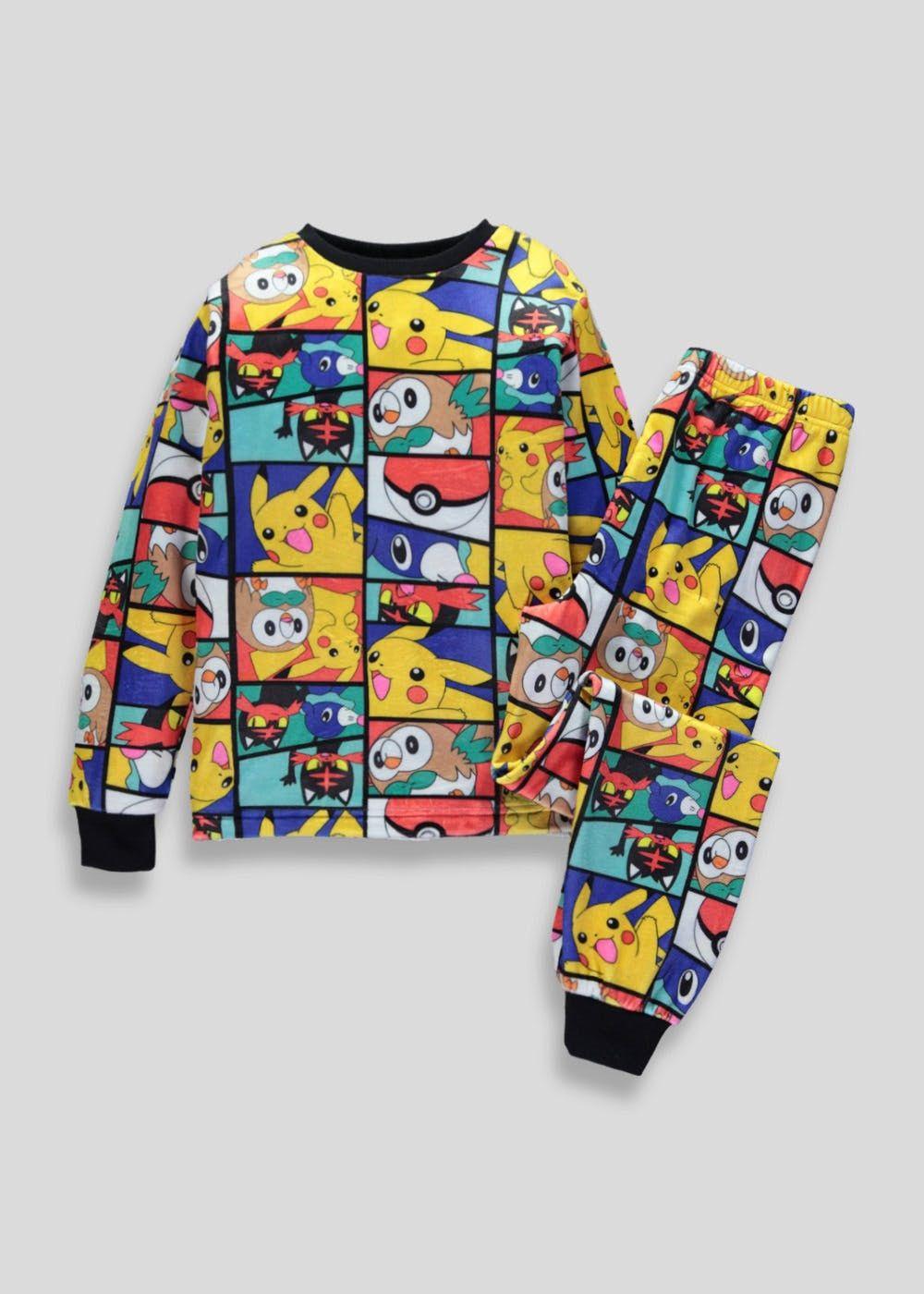 5015fa6f1 Kids Pokemon Fleece Pyjama Set (5-12yrs)