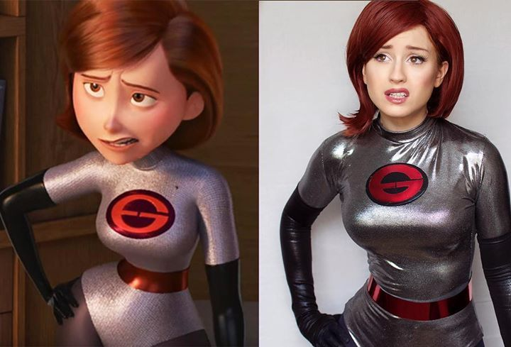 Incredibles 2 Elastigirl Comparison by JokerLolibel ...