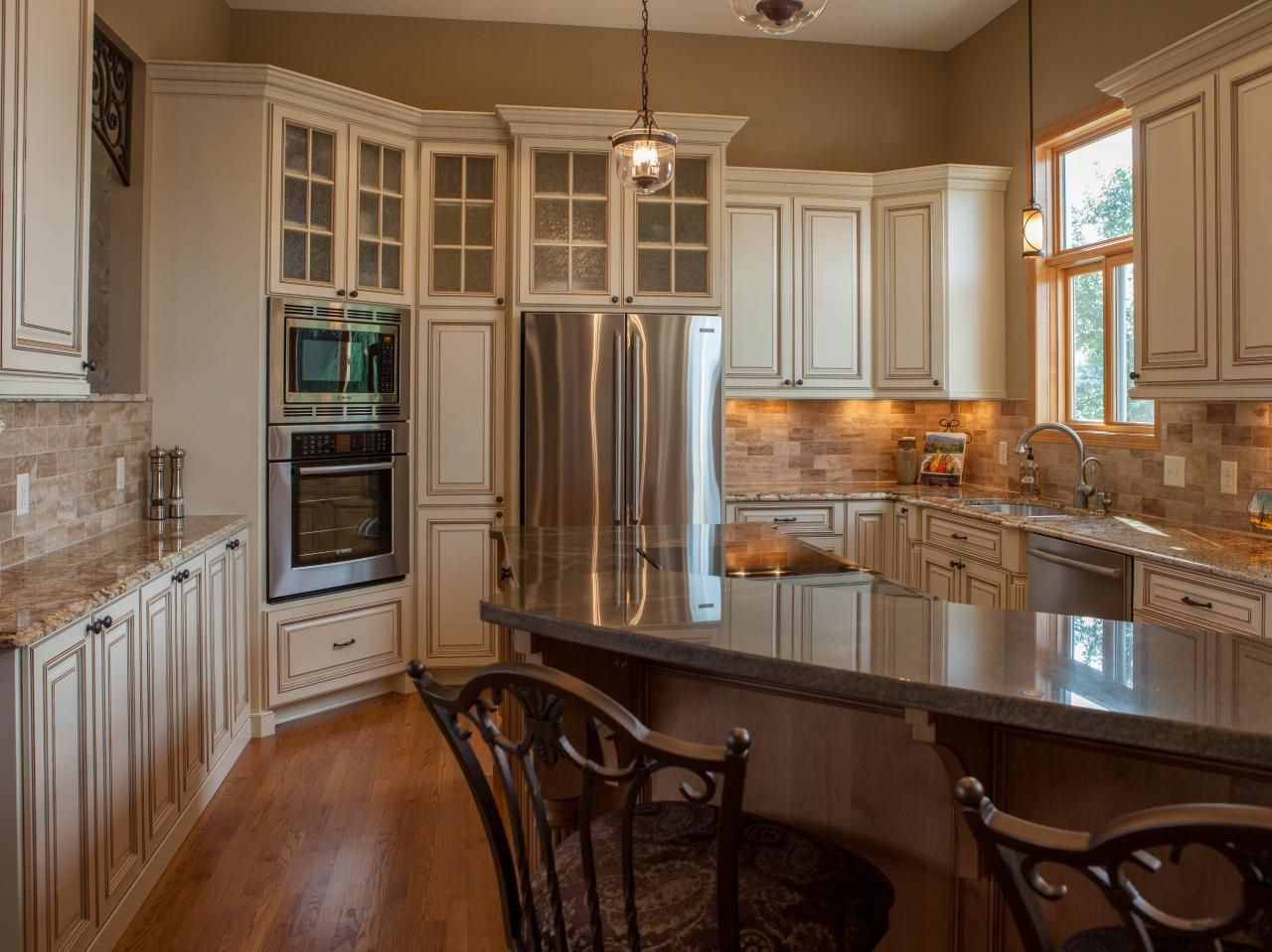 Beautiful Tuscan Kitchen Designs Traditional Tuscan Kitchen Makeover  Hgtv Kitchens And Traditional