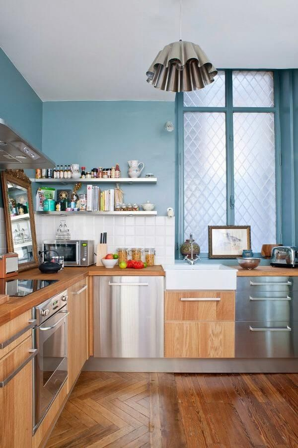 Appartement ancien & design contemporain | Kitchen | Pinterest