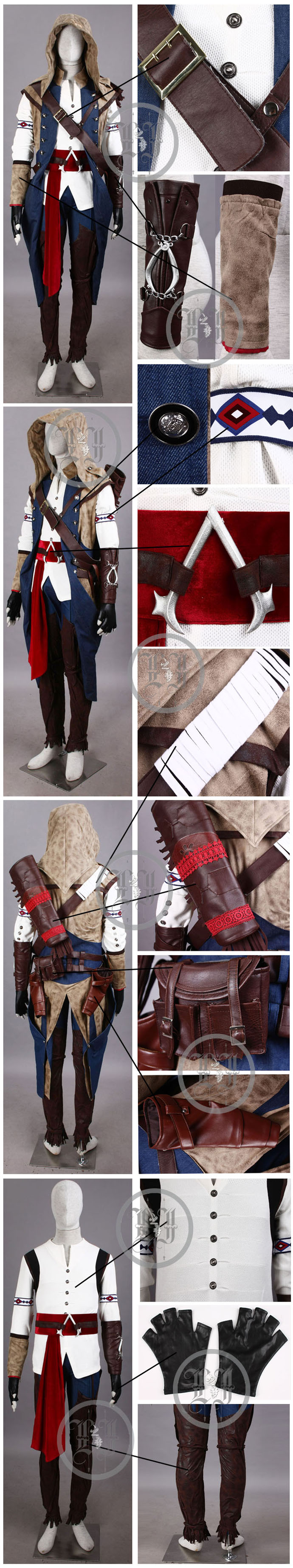 Assassin's Creed 3 Connor Kenway Costume