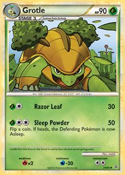 Grotle Pokemon Card Art Pinterest