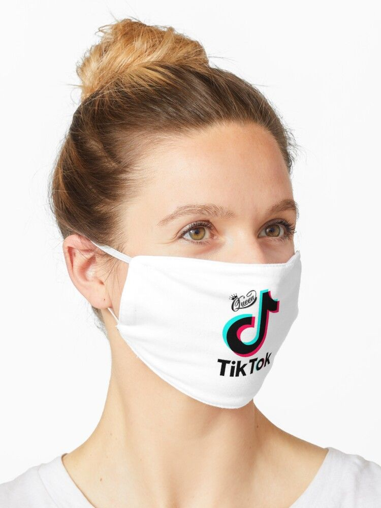Queen Of Tik Tok Summer Edition 2020 Mask Funny Face Mask Face Mask