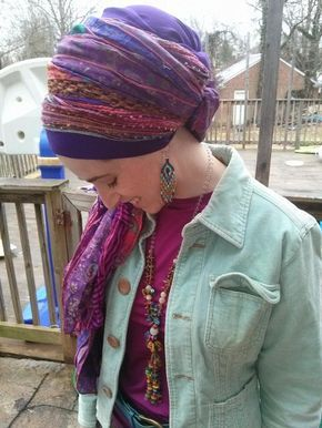 how to get more from your tichel in 2020  head scarf