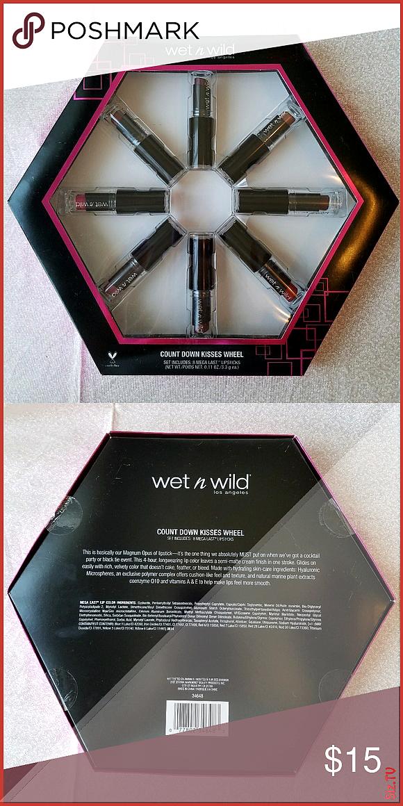 Wet n Wild Lipstick Wheel Set includes 8 mega last mini lipsticks in the following colors 902C Bare