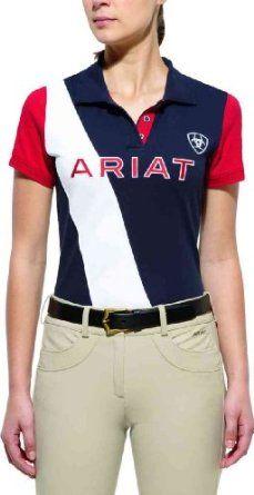 68eb19a6 Ariat 10530 Women's Taryn Team Polo Navy Eclipse X-Large Ariat. $44.95