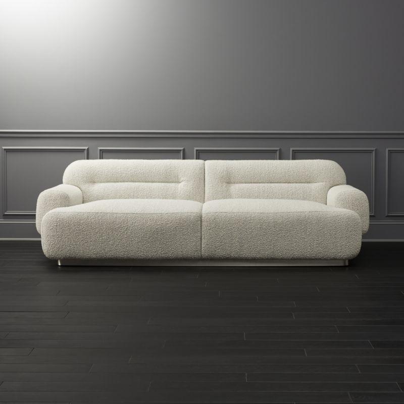 Logan Grey Boucle Sofa Reviews