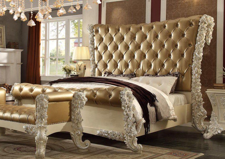 Homey Design Cal. King Bedroom Set HD 8012