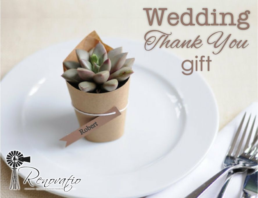 Inexpensive Thank You Gifts For Wedding Guests Decor Pinterest