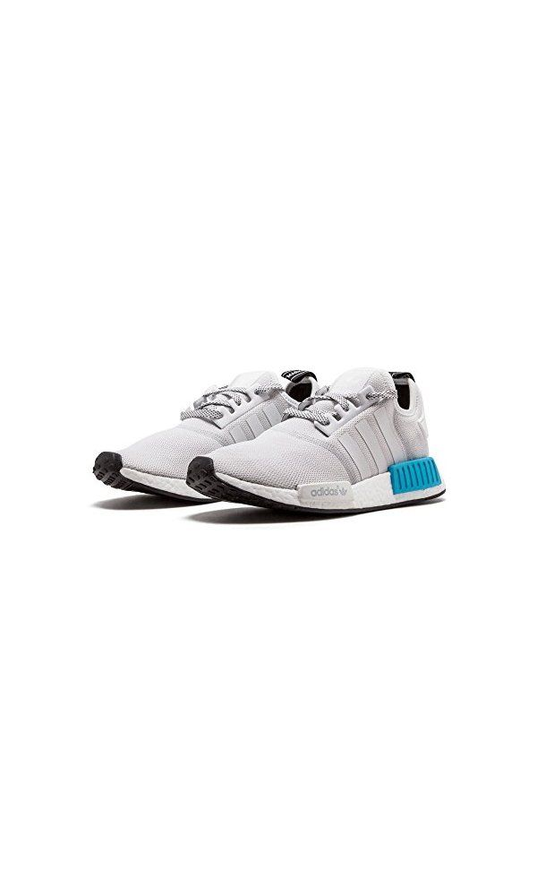 7da726a44 0  - adidas mens NMD R1 White Bright Cyan - S31511 (Size 7.5) from ...