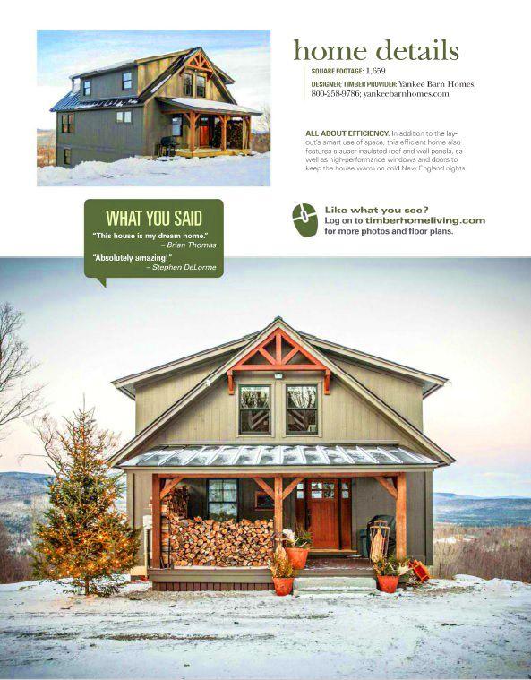 Small Barn Home Wins BIG Award | Moose, Beams and Barn